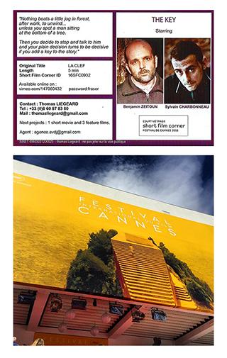 Montage LA CLEF Festival de Cannes 2016 Thomas Liégeard / Benjamin Zeitoun / Sylvain Charbonneau