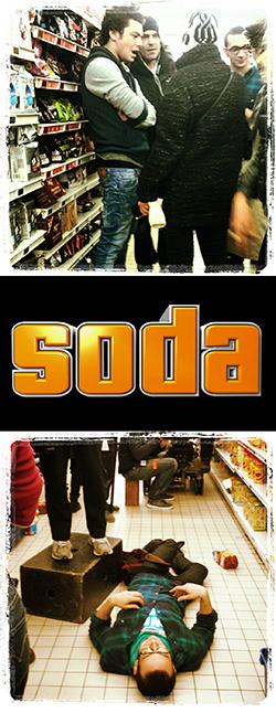 SODA Tournage Le rêve américain M6